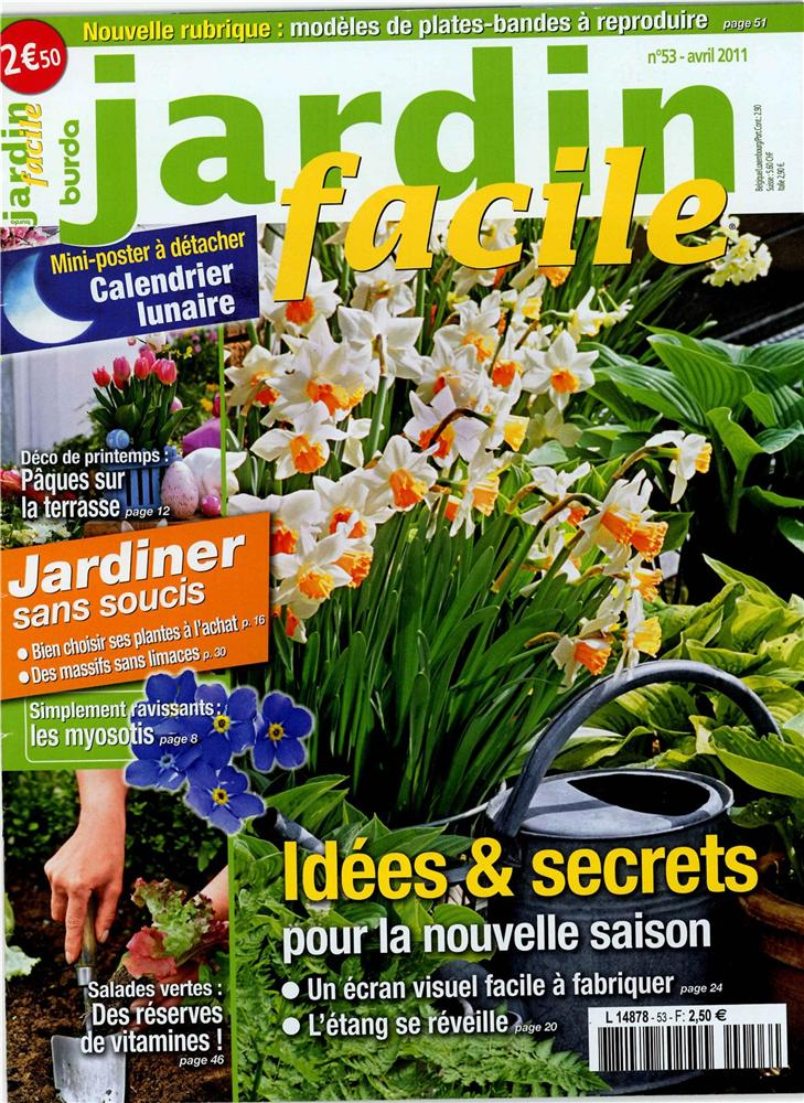 Jardin facile n 53 easy gardening n 53 tom press for Jardin facile cognac