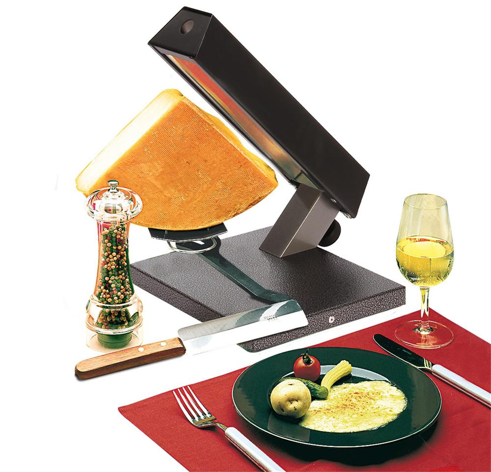 1 4 cheese raclette machine tom press. Black Bedroom Furniture Sets. Home Design Ideas